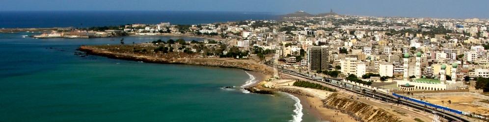 Dakar Senegal- Sea side City