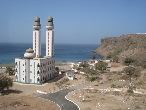 Cliffs surrounding the Mosquée de la divinité