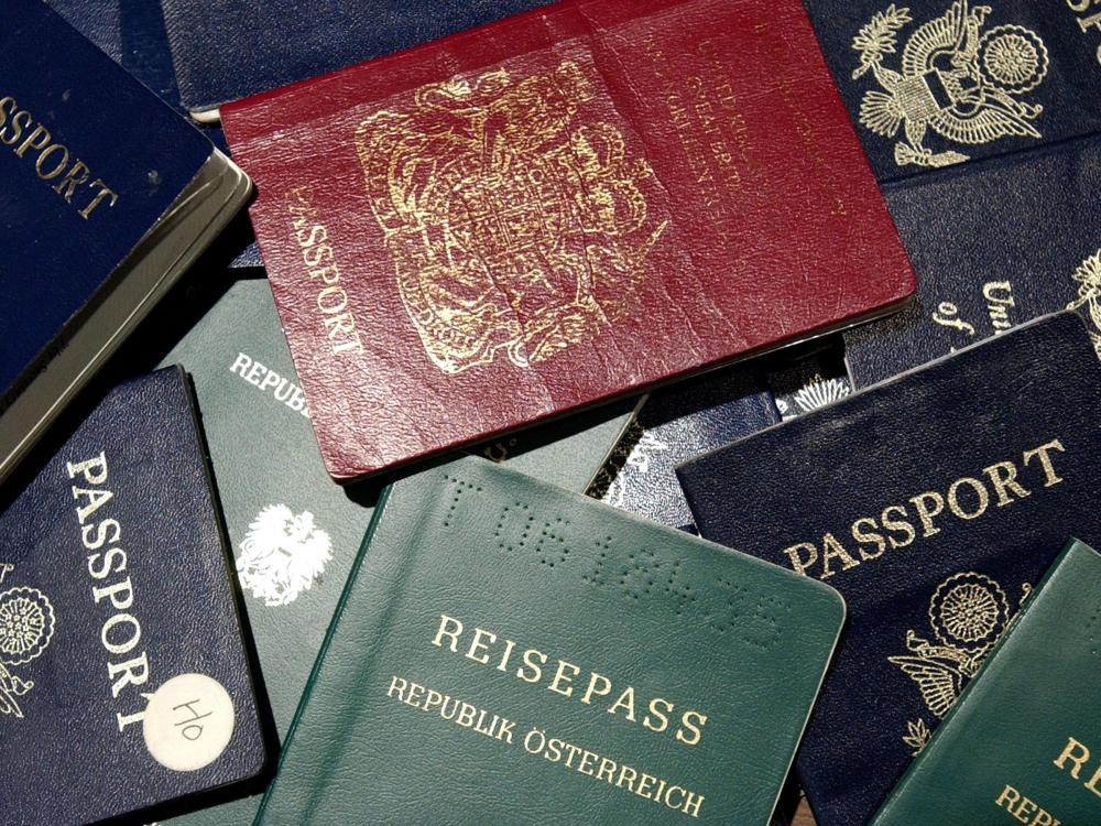 lots of passports